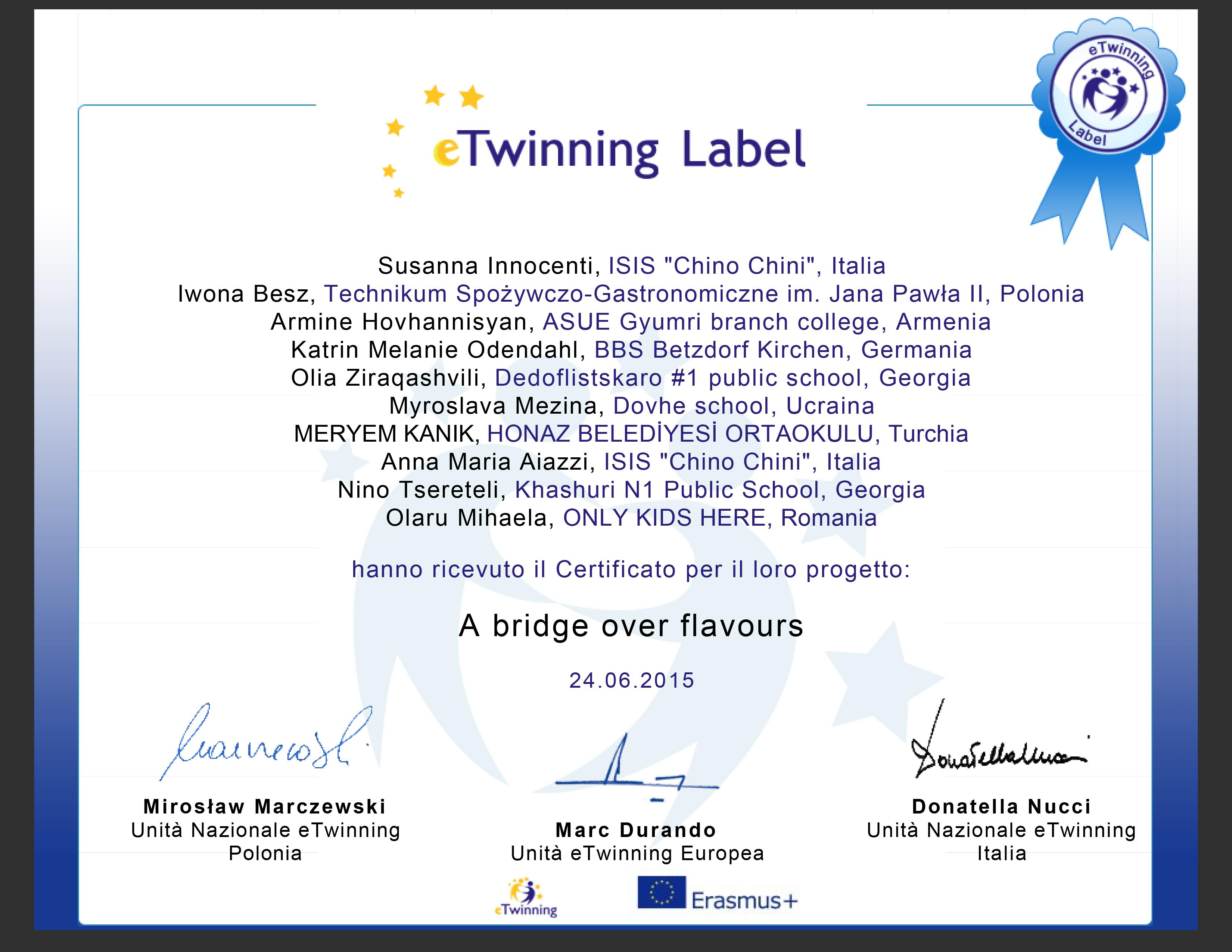 Etwinning_certificate_Aiazzi_Innocenti